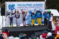 premiazione_Marta-Bassino_campionessa_mondiale_Junior_Gigante_Jasna_27_02_2014_11