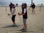 Sci di fondo on the beach Laigueglia 2015